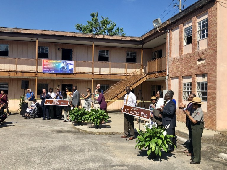 Birmingham celebrates 65th Anniversary of A.G. Gaston Motel and designates A.G. Gaston Blvd.